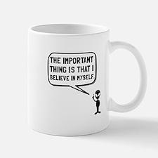 Alien Believe In Myself Mugs