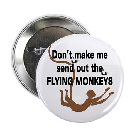 Flying Monkeys Button (100 pk)