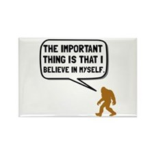 Bigfoot Believe In Myself Magnets