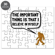 Bigfoot Believe In Myself Puzzle