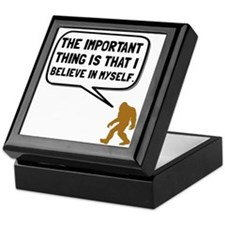 Bigfoot Believe In Myself Keepsake Box