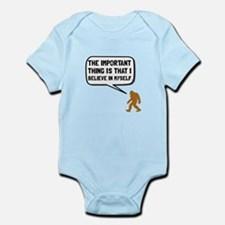 Bigfoot Believe In Myself Body Suit