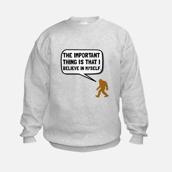 Bigfoot Believe In Myself Sweatshirt