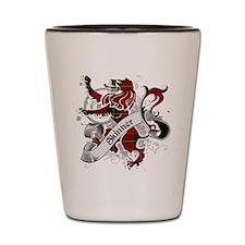 Skinner Tartan Lion Shot Glass