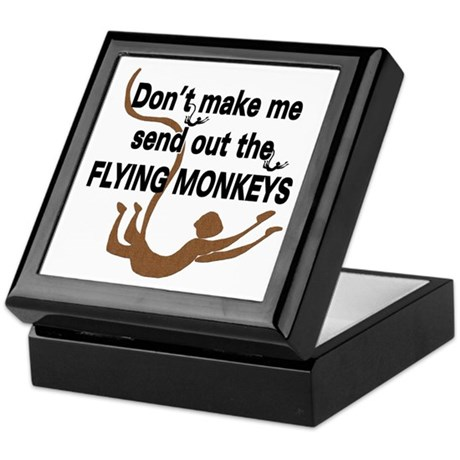 Flying Monkeys Keepsake Box