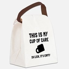 Cup Of Care Canvas Lunch Bag