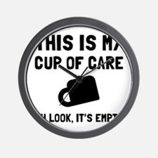 Cup Of Care Wall Clock