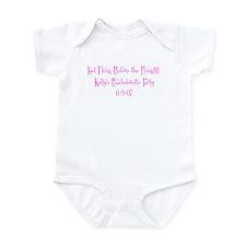 Last Fling Before the Ring!!! Infant Bodysuit