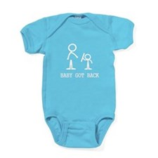 Baby Got Back Baby Bodysuit
