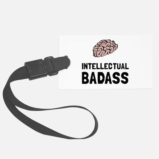 Intellectual Badass Luggage Tag