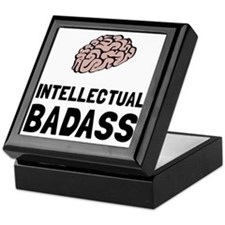 Intellectual Badass Keepsake Box