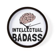 Intellectual Badass Wall Clock