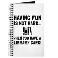 Library Card Fun Journal