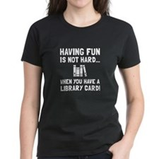 Library Card Fun T-Shirt