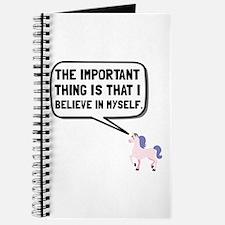 Unicorn Believe In Myself Journal
