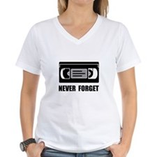 VCR Tape Never Forget T-Shirt