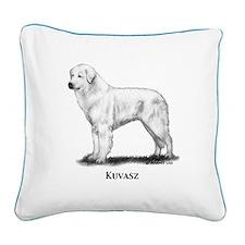 Kuvasz Square Canvas Pillow