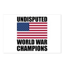 World War Champions Postcards (Package of 8)