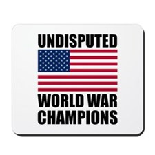 World War Champions Mousepad