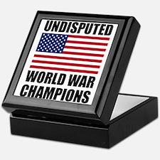 World War Champions Keepsake Box