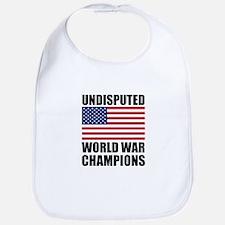 World War Champions Bib