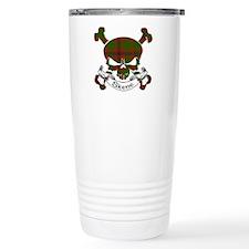 Skene Tartan Skull Travel Mug