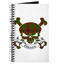 Skene Tartan Skull Journal