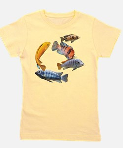 Cichlids Girl's Tee