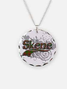 Skene Tartan Grunge Necklace