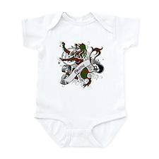 Skene Tartan Lion Infant Bodysuit