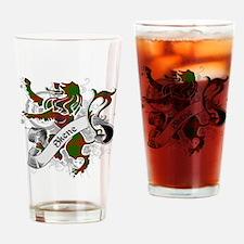 Skene Tartan Lion Drinking Glass