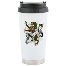 Skene Tartan Lion Travel Mug