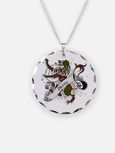 Skene Tartan Lion Necklace