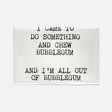 Chew Bubblegum Magnets