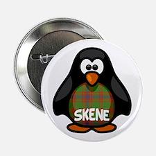"Skene Tartan Penguin 2.25"" Button"