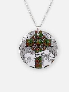 Skene Tartan Cross Necklace