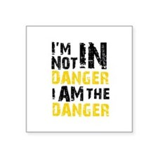 "Breaking Bad: I am the Dang Square Sticker 3"" x 3"""