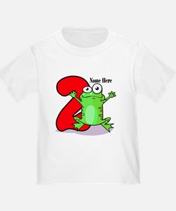 2nd Birthday Froggy T