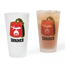 Cool Shriners Drinking Glass