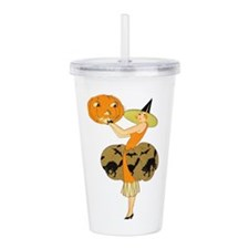 Cool Vintage halloween Acrylic Double-wall Tumbler