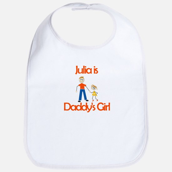 Julia is Daddy's Girl Bib