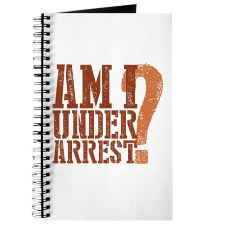 Breaking Bad: Am I Under Arrest Journal