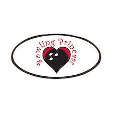 Bowling Princess Patches