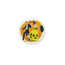 Vintage Halloween Costume Ball Mini Button