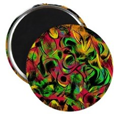 Trippy Psychedelic Art 2 Magnet