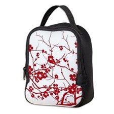 Cute Oriental Neoprene Lunch Bag
