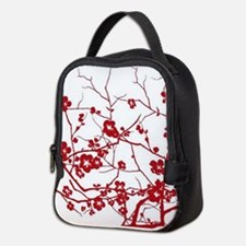 Cool Red Neoprene Lunch Bag