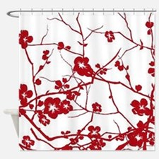 Unique Tree of peace Shower Curtain
