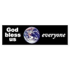 God Bless Bumper Bumper Sticker