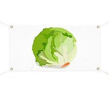 Lettuce Head Banner